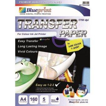 Price prom of mediatech dark fabric t shirt inkjet transfer paper blueprint bp tka4160 transfer paper dark a4 malvernweather Choice Image