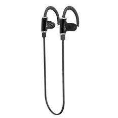 Bluetooth 4.0 Earphone Portable Wireless Stereo Outdoor Sport Running Headphone Black (Intl)