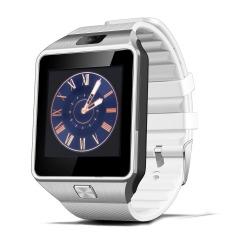 Bluetooth Smart olahraga perhiasan mewah jam layar sentuh untuk Android telepon seluler (putih)