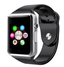Bluetooth Smart Watch W8 WristWatch For IOS And Android Smartphone With SIM, (Black)