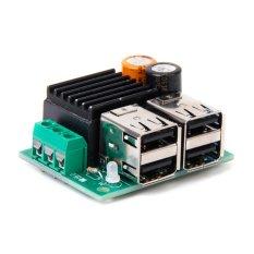 Generic DC 9.12.24.35V To 3-6V Adjustable Step Down 4-USB Step-down Power Module