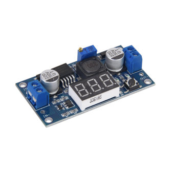 BolehDeals LM2577 DC-DC Adjustable Step-up Power Supply Module With 3-digit Display