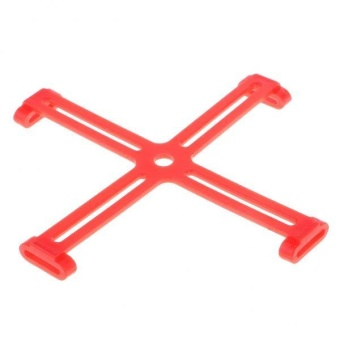 BolehDeals Propellers Holder Protector Fixer Silicone Stabilizer for DJI SPARK Red - intl