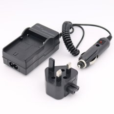 BP-1030 BP1030 Battery Charger For SAMSUNG NX200 BC1030 BP1030B NX1000 BC1030B NX210 AC + DC Wall + Car (Intl)