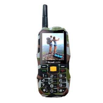 Brandcode B81 ARMY - 10000mAh - Dual SIM - Cokelat