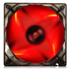 BUBALUS LED Shining Case Fan 12cm Mute Hydraulic Cooling Fan (Red) - Intl