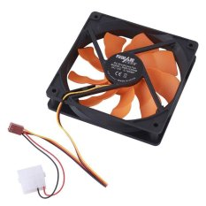 Buyincoins 120mm PC Chassis Internal Desktop Computer DC Brushless Cooling Fan Cooler