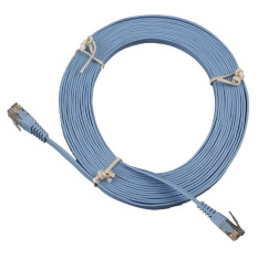 BUYINCOINS 15ft 5M CAT6 CAT 6 Flat UTP Ethernet Network Cable RJ45 Patch LAN Cord
