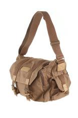 Caden F1 Waterproof & Portable Canvas DSLR Camera Shoulder Bag For Canon Nikon Sony Olympus Pentax-Coffee
