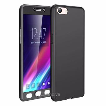 Harga Calandiva Front Back 360 Degree Full Protection Case With Tempered Glass for Oppo F1S /