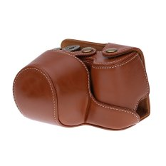 Camera Bag Case Cover Pouch For Sony A6000 NEX-6 Camera Brown