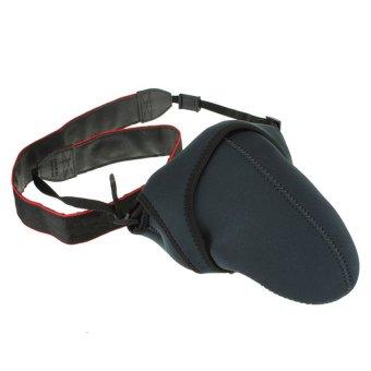 Camera Bag For Nikon DSLR D90 D3000 D3100 D5000 D5100 D7000 (Black)