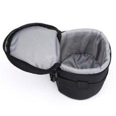 Camera Lens Protector Padded Carry Pouch Insert Bag Cover 10.5x16cm For DSLR SLR