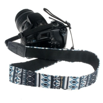 Camera Shoulder Neck Strap Belt For SLR DSLR WH - intl