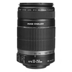 Canon EF-S 55-250mm F4-5.6 IS II Black