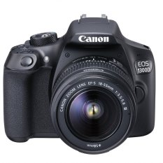 Canon EOS 1300D - 18MP - Kit 18-55mm IS II - Hitam