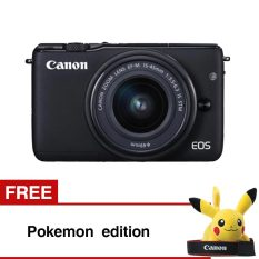 Canon EOS M10 Black with EF-M15-45mm Gratis Pokemon Edition