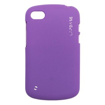 Capdase Soft Jacket 2Xpose For Blackberry Q10 Solid - Ungu