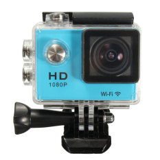 Car Action Waterproof 1080.720P HDMI Sport Camera And 2Battery (Blue)