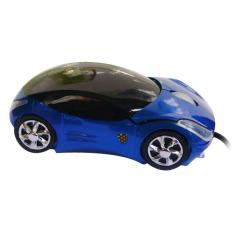 Car Shape USB Mouse Mice Blue