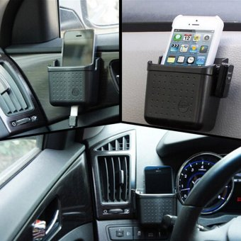Car SUV Multi-function Storage Bag Store Box Cell Phone Holder