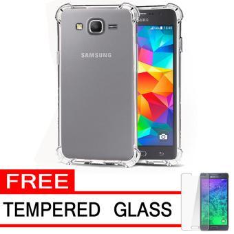 ... 2018 (14 Picture) / Anti. Source · Case Anti Shock / Anti Crack Elegant Softcase for Samsung Galaxy J2 Prime - White Clear