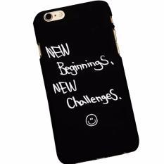Case Casing Iphone 6/6s Dove - New Beginnings - Hitam