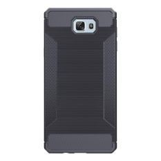 Case Cover for Samsung Galaxy J7 prime Shell Brushed Carbon Fiber TPU Rugged Phone Casing Bag
