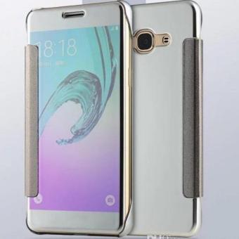 Case Executive Chanel Samsung J7 Prime Flipcase Flip Mirror Cover S View Transparan Auto Lock Casing