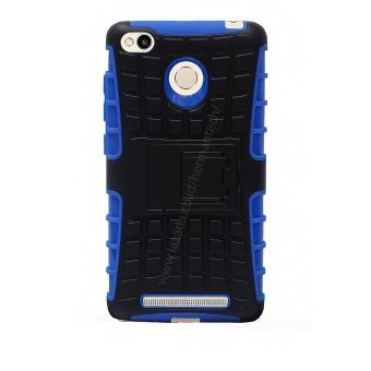 Case for Xiaomi Redmi 3 / Redmi 3S / Redmi 3 Pro Rugged Armor With Kickstand - Blue