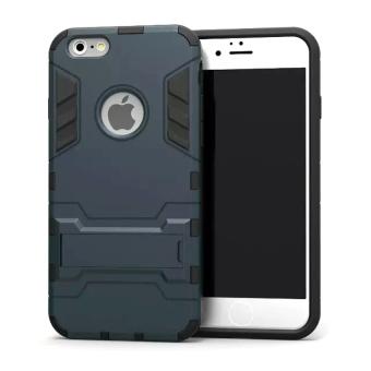 Case Iphone 6 Plus Shield Armor Kickstand Avenger Series - Black