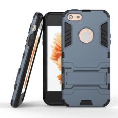 Case Kickstand Iron Man For Apple iPhone 5c/5s - Black - Free iRing