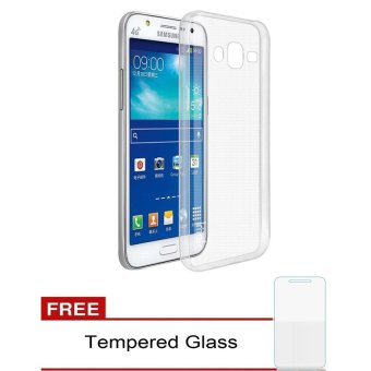 Case Samsung Galaxy J3 Ultrathin Aircase - Clear + Gratis Tempered Glass
