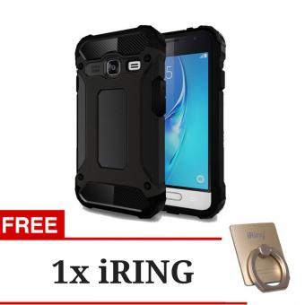 Jual Case Tough Armor Rugged Capsule TPU Silicone Shockproof Back Case Samsung Galaxy J1 Mini -