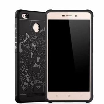 Case TPU Dragon Back Cover Silikon Original for Xiaomi Redmi 3 pro/ 3s