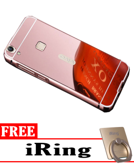 Gold Source · Harga Case For Vivo Y51 Aluminium Bumper With Mirror Backdoor .