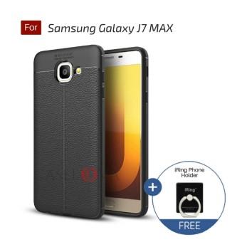 Caselova Ultimate Experience Shockproof Premium Quality Hybrid Case For Samsung Galaxy J7 MAX - Black +