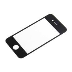 CHEER Front Screen Glass Lens Repair Replacement For Apple IPhone 4 4S Black (Intl)