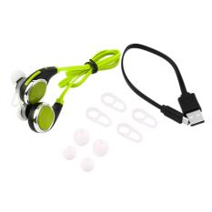 CHEER HIFI Headset Bluetooth Wireless Stereo Headphone QY8 Sports Earphone Earbuds (Green) (Intl)