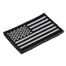 CHEER Rectangle Embroidery Flag Tactical Patch Armbands Shoulder Badge Straps Black & White