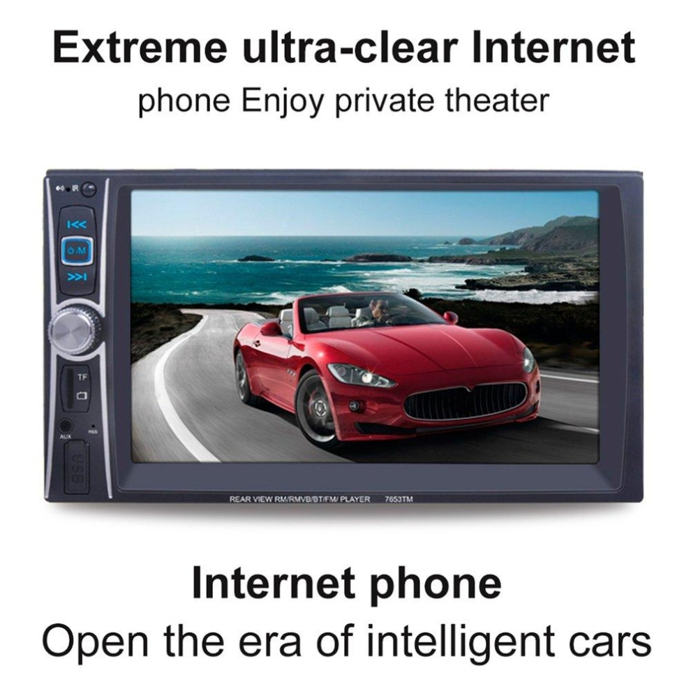 CHEER Touch Screen Car Mp5 Player Bluetooth Mp5 Audio 1080 P Movie 2 DIN Car Audio-Intl