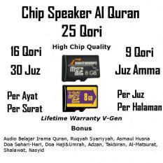 Chip Speaker Murottal Al Quran Micro sd Kartu Memori v-gen vgen maestro 8gb 8 gb