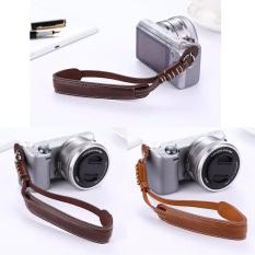 Coffee PU Leather Camera Hand Grip Wrist Strap Rope For Finepix Fuji Fujifilm X30 X20 X10 XT1 XT10 X100 X100S XE1 XE2 XM1 XA1 XA2 (Intl)