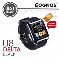 Cognos U8 Delta GSM SIM CARD Smartwatch - Hitam