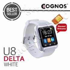 Cognos U8 Delta GSM SIM CARD Smartwatch - Putih