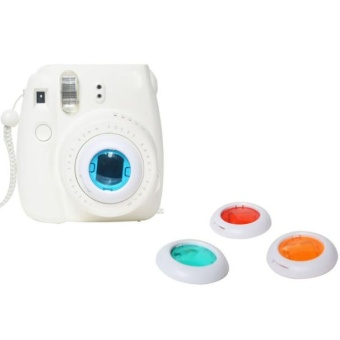 Colorful Filter 4 Colors Magic Lens For Fujifilm Instax Mini 8 7s Cameras Color Free Shipping