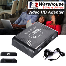 Converter Video HD Adapter HDMI To Scart 1080p Audio Coassiale Convertitore AH033