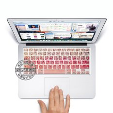 """Coosybo US Type Laptop Silicone Protective Keyboard Cover Skin Protection Sticker For 13.3.15.4.17"""" Mac MacBook Air Pro Retina 13.15"""" Inch / Imac G6"""