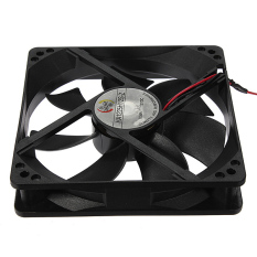 CPU Ventilateur Radiateur PC Ordinateur 120mm 4 Pins 12V Silenxieux Cooling Fan