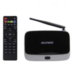 CS918 Android 4.4.2 Rock-chips RK3188T Smart Media Player TV BOX Mali-400MP2 Quad Core 400MHz Black